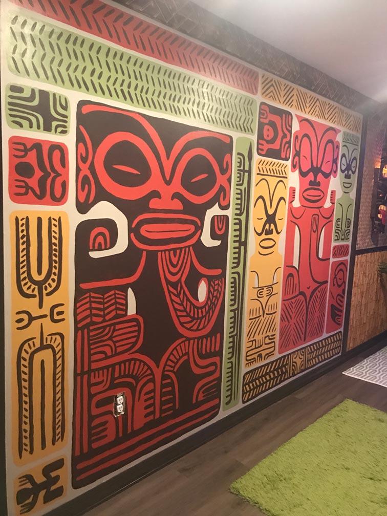 The Wall of Tiki